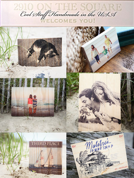 Personalized Gifts Wood Photo Plaques from Plak That